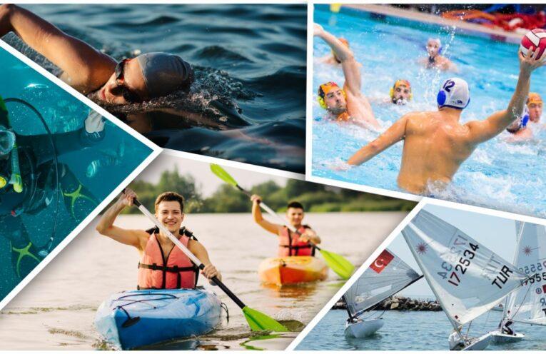 su sporları, madde ve teknoloji bağımlılığının cankurtaranı su sporları, yüzme, dalış, yelken, kano, kürek, cankurtaran, bronz cankurtaran, gümüş cankurtaran, altın cankurtaran, su altı fotoğrafçılık, rafting